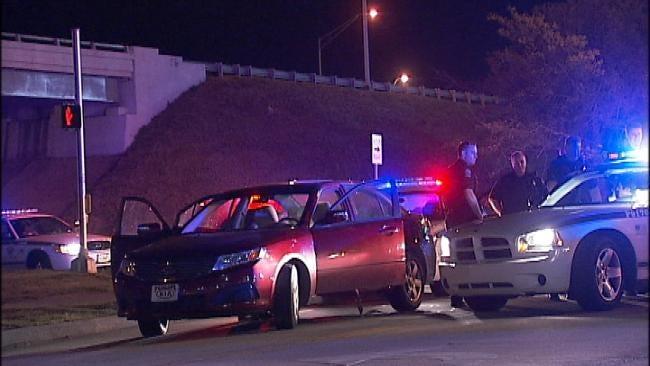 Tulsa Police Chase Teenage Driver To Sand Springs
