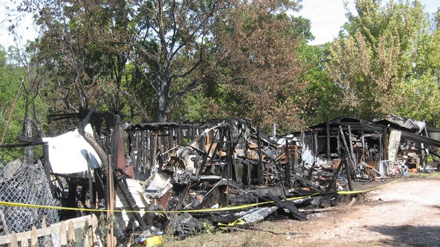 Grand Lake Mobile Home Fire Claims Life Of Toddler