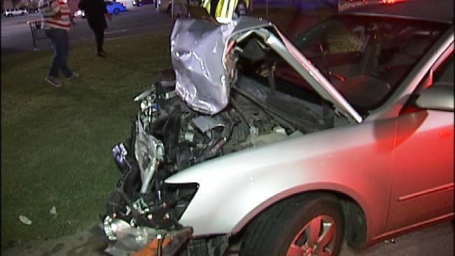 Bristow Man Arrested For DUI After Rear-Ending SUV In Tulsa
