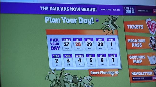 Plan Your Tulsa State Fair Day With App, Online Tools