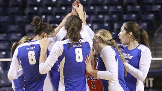 Henderson's 31 Kills Leads Tulsa Volleyball To Five-Set Win