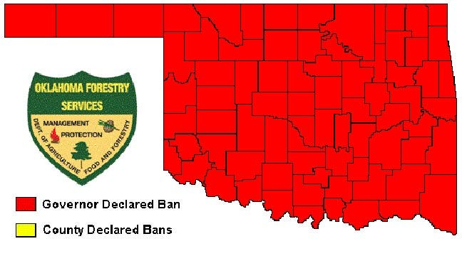 State-Wide Burn Ban Continues For Oklahoma
