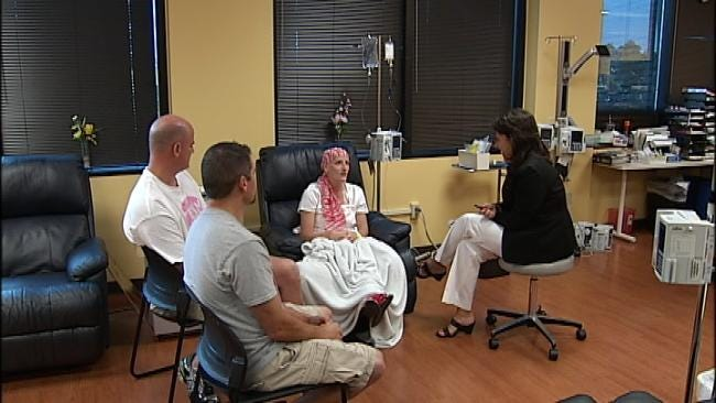 Despite Her Chemo Treatments, Shannon's Smile Still Lights Up A Room