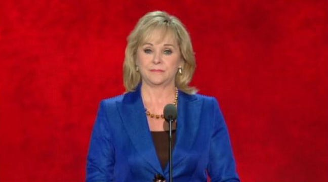 Governor Mary Fallin Campaigning For Romney In North Carolina