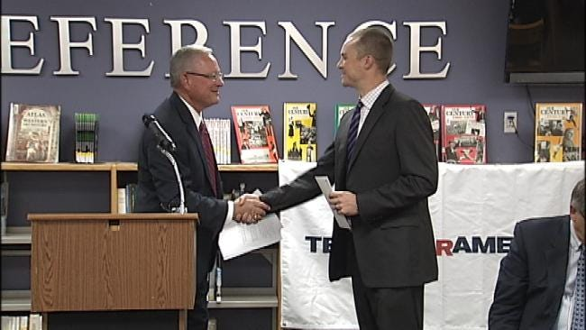 Tulsa's McLain High Receives $100,000 Donation