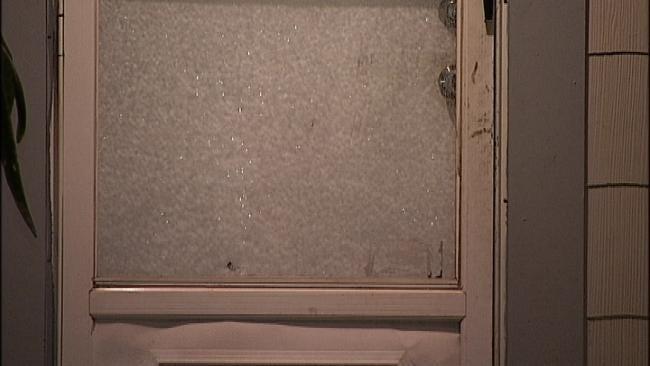 Gunshot Fired Through Front Door Injures Tulsa Homeowner