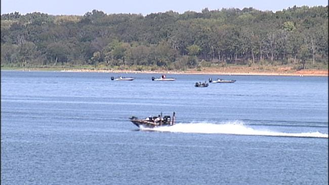 Professional Anglers Flock To Fort Gibson Lake For Bassmaster Tournament