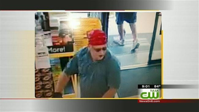 Claremore Police Release New Image Of Man Who Robbed Dollar General