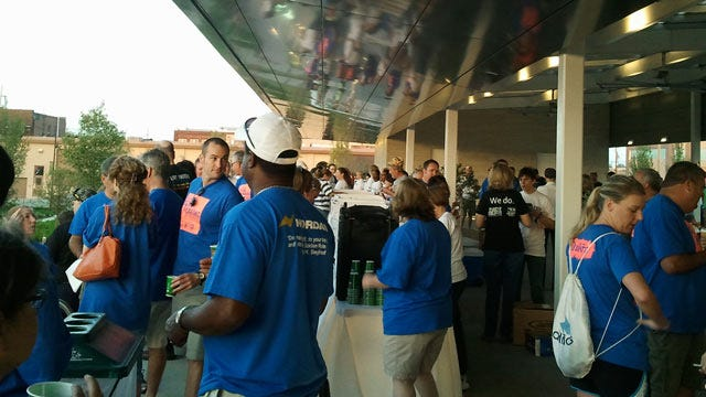 Tulsa Area United Way's Day Of Caring Begins