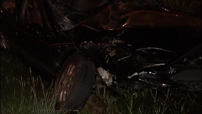 Driver Arrested For DUI Following A West Tulsa Crash