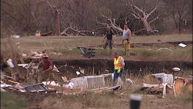 Nowata Victims Salvage What's Left After Deadly Storms