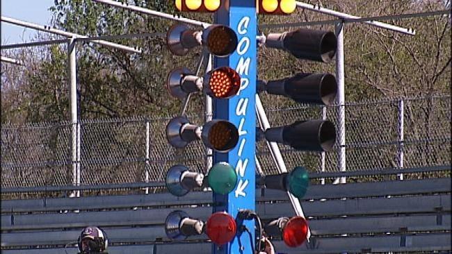 Tulsa Raceway Park Revs Up For 'Drag Week'