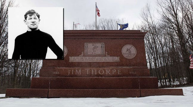 Judge Sides With Sons About Legendary Athlete Jim Thorpe's Remains