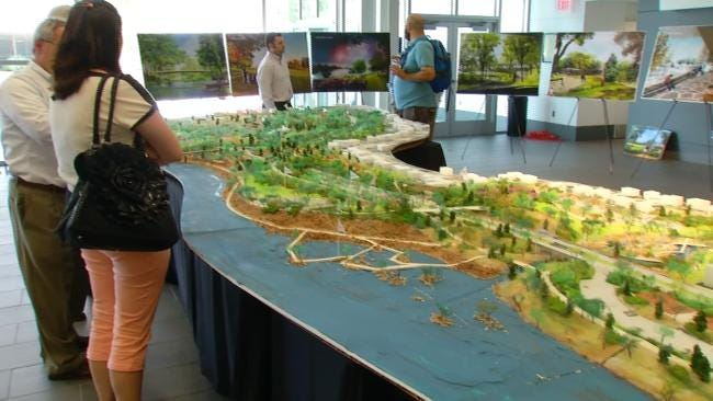Model For 'A Gathering Place For Tulsa' On Display Starting Sunday