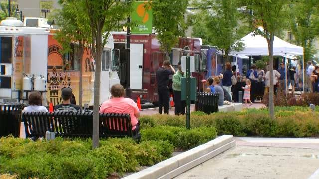 Food Trucks Flock To Boston Avenue Downtown For Tuesday Eats