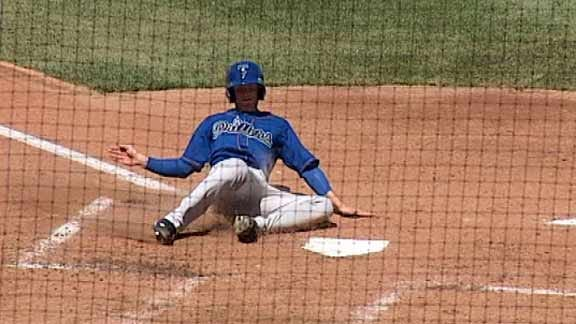 Drillers Fall To Arkansas In 10 Innings