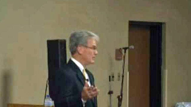 Coburn To Muskogee Voters: 'Don't Shut Down Government To Defund Obamacare'