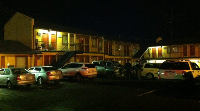 Man Dies After Falling From Motel Balcony In Sapulpa