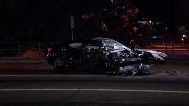 Tulsa Police: Driver Injured After Running Red Light, Hitting Beer Truck