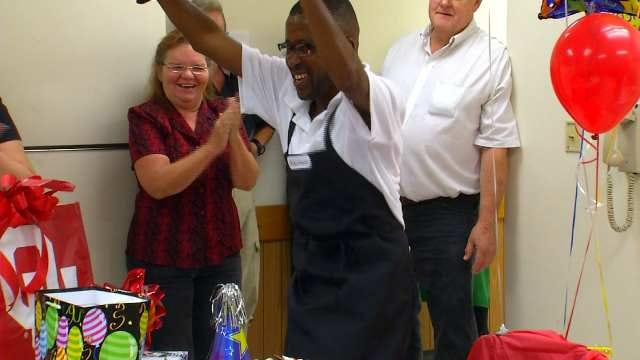 Food Pyramid Throws Birthday Party For Beloved Employee With Special Needs