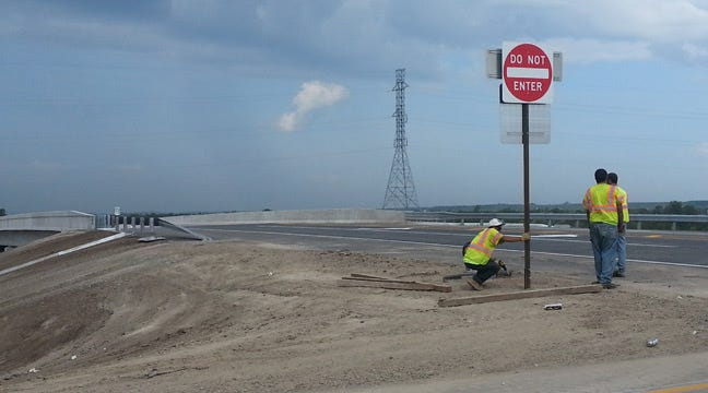 New 116th Street North Overpass At U.S. 75 Now Open