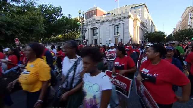 March On Washington's 50th Anniversary Commemoration Draws Thousands