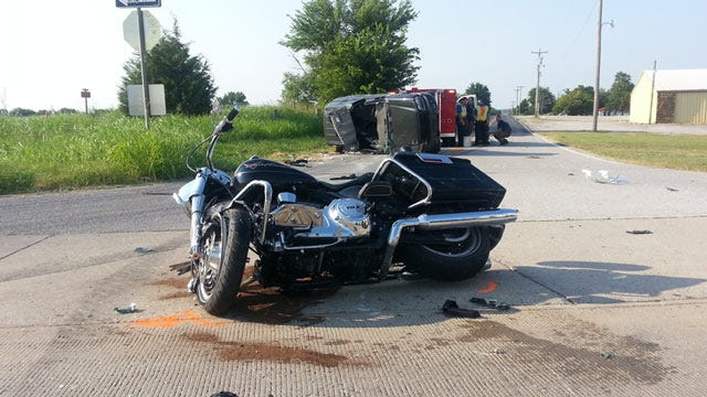 Motorcycle Rider Killed In Collision With SUV Near Oologah