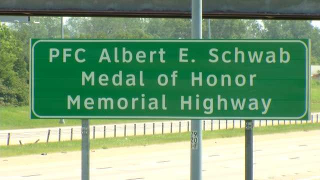 Tulsa Highway Dedicated To The City's Only Medal Of Honor Recipient