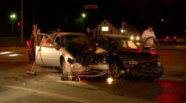 Car Crash Ends In Tulsa Man's DUI Arrest