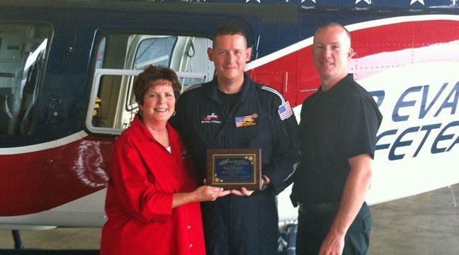 Claremore Air Evac Flight Nurse, Veteran Honored