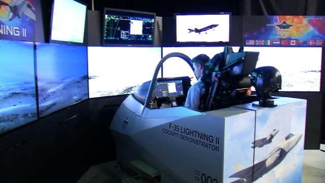 Tulsa Firm Showcases Its Part In Building Military's Most Advanced Jet