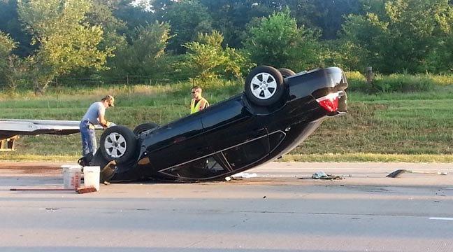 One Person Hurt In Rollover Crash Near Catoosa