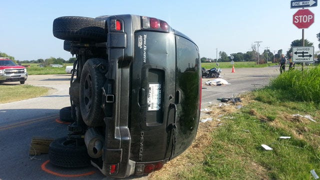 Authorities ID Motorcyclist Killed In Crash With SUV In Rogers County