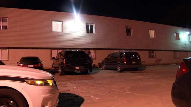 Building, Vehicles Hit By Gunfire At Tulsa Apartment Complex