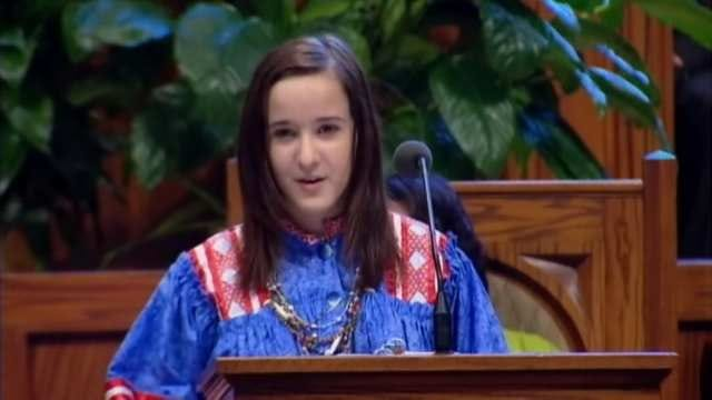 Oklahoma Teen Takes Part In MLK Speech Commemoration In DC