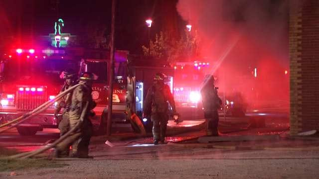Tulsa Business Destroyed By Fire
