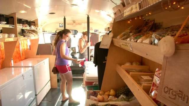 'Farminator' Bus A Grocery Store On Wheels For Tulsa Area