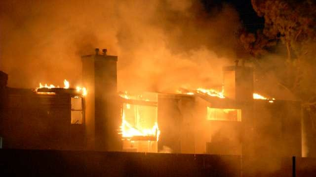 Tulsa Apartment Complex Burns Twice In Four Days