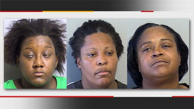 Tulsa Police: 3 Members Of All-Female Robbery Gang Jailed