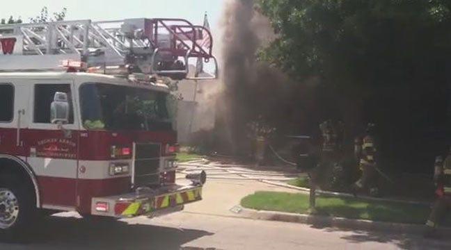 Teenage Neighbor, Mailman Pull Broken Arrow Woman From Burning Home