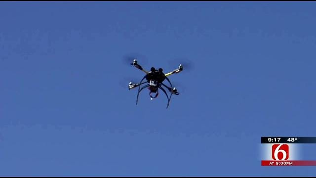 Oklahoma Farmers Experiment With Aerial Drones