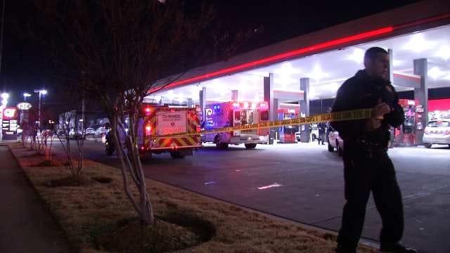 Police: Man Shot Multiple Times Outside Tulsa Quik Trip