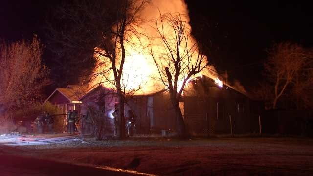Tulsa Woman Killed In Overnight House Fire