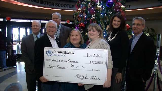 Cherokee Nation Businesses Donates $20K To Tribe's Angel Tree