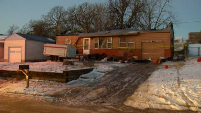 Sand Springs Fire Department Looks For Owner Of Destroyed Home