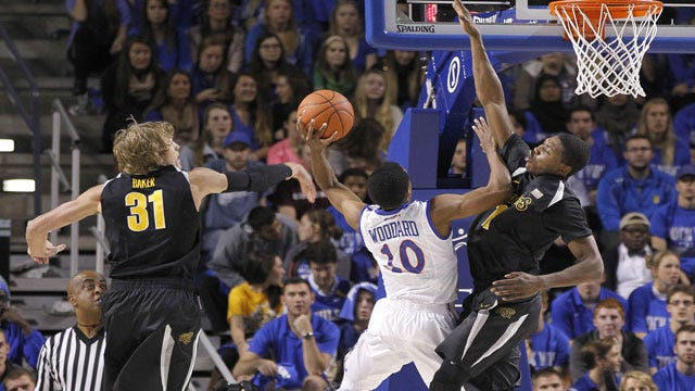 Tulsa Men Push Past Arkansas-Little Rock