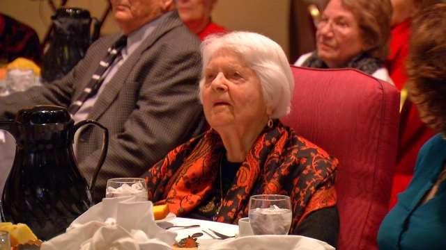 Tulsa Woman Watches Son Accept Nobel Prize In Medicine