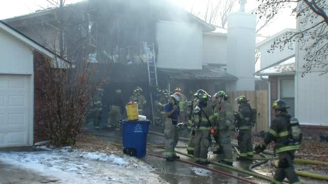 1 Man Injured, 2 Pets Killed In East Tulsa House Fire