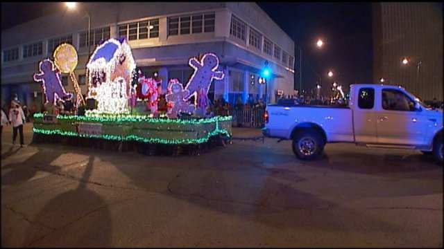 Downtown Tulsa Parade Of Lights Route Changed Due To Water Line Break