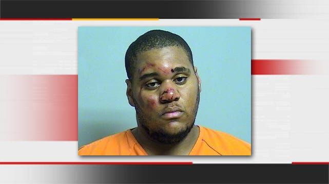 Tulsa K-9 Officer Brings Down Reported Armed Robber